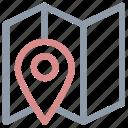 location marker, location pin, location pointer, map locator, map pin