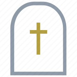 gravestone, graveyard, headstone, rest in peace, tombstone icon