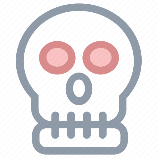 be aware, danger, death, skeleton, skull icon