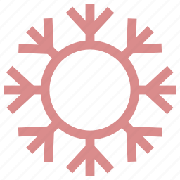 christmas snowflake, snow falling, snowflake, snowflake ornament, winter decoration icon