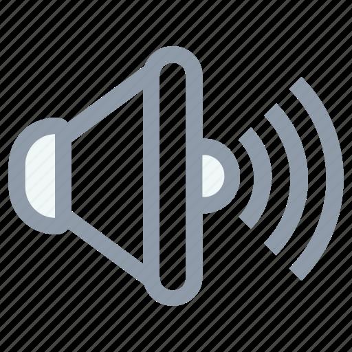 high volume, loud volume, loudspeaker, speaker, volume icon