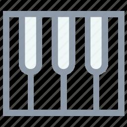 digital keyboard, electronic keyboard, piano, piano keyboard, portable keyboard icon