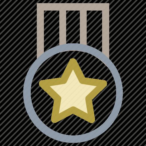 achievement, medal, position medal, prize, reward icon
