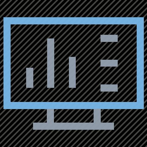 bar chart, diagram, online analytics, online graphs, online infographics icon