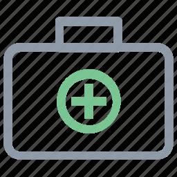 first aid, first aid box, first aid kit, medical aid, medical box icon