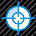 aim, interface, target icon