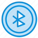 bluetooth, interface, ui, user icon
