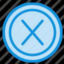 close, cross, interface, no, user icon