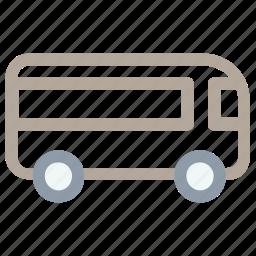 autobus, bus, coach, school bus, transport icon