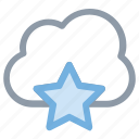 cloud, forecast, puffy cloud, sky, weather icon