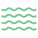 ocean, sea waves, water, water waves, waves icon