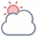 cloud, day, morning, sunrise, sunset icon