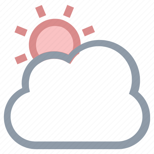cloud, day, morning, sunrise, sunset icon