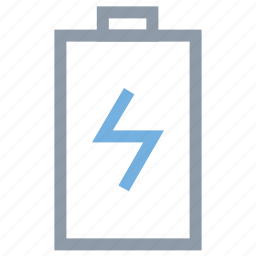 battery charging, battery status, flash sign, mobile battery, mobile charging icon