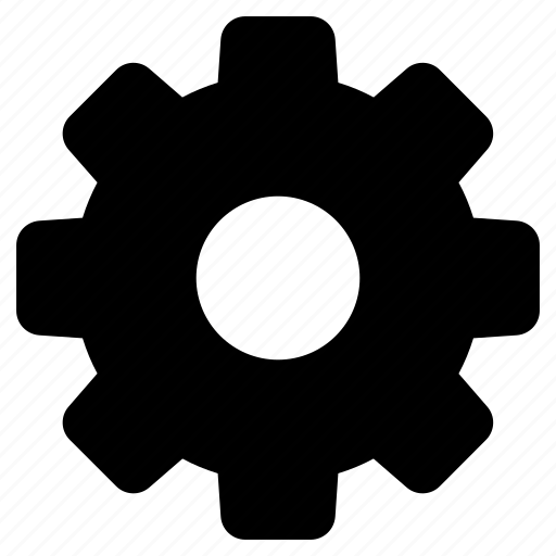 cogwheel, gear, gear wheel, management, technology icon