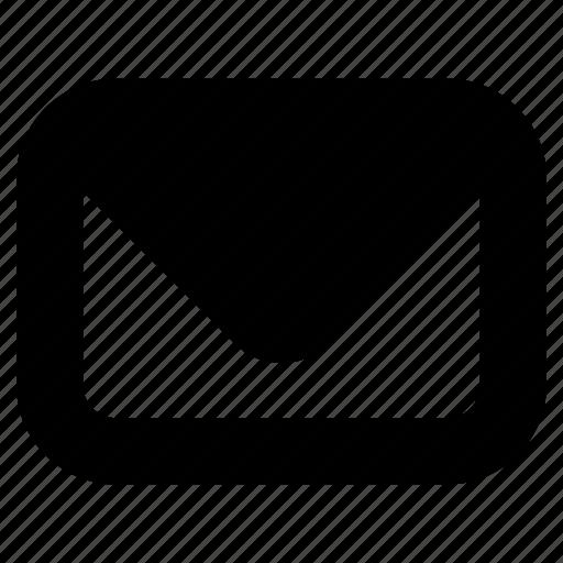 drafts, envelope, letter, mail, postal service icon