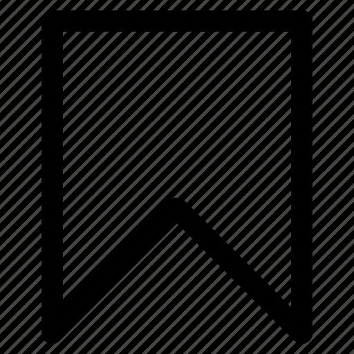 bookmark, favorites, turned in not, uniform resource identifier, uri icon