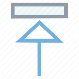 arrow expand, full screen icon, maximize arrow, mobile application, screen scale icon