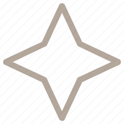 decorative element, drawing, four pointed star, graphic design element, star icon