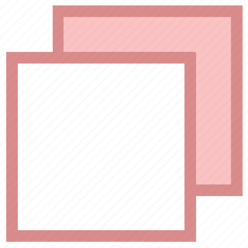 blank papers, copy, documents, files, pages icon