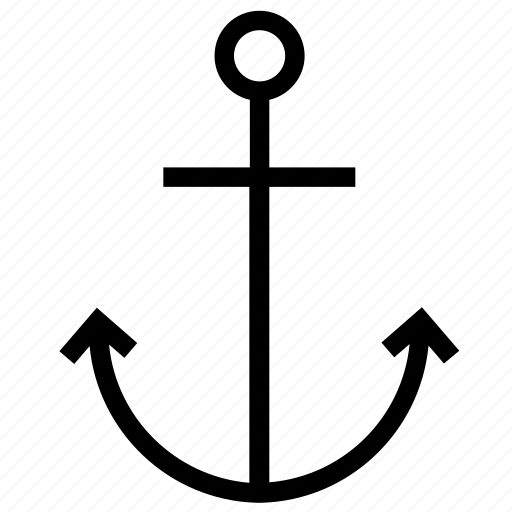 anchor, boat, cruise, marine, ship, vessel, yacht icon
