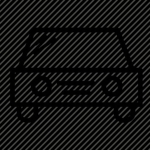 auto, automobile, car, front, transport, transportation, vehicle icon