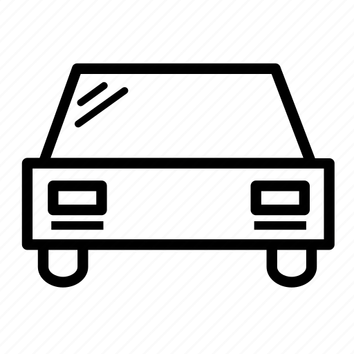 automobile, car, rear, service, transport, transportation, vehicle icon