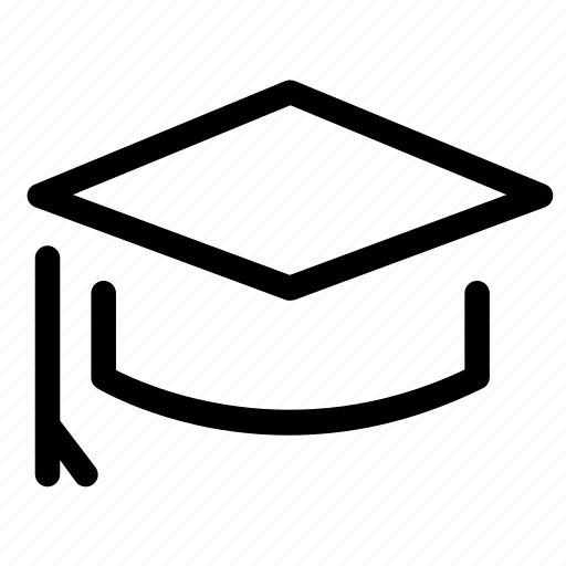 college, degree, education, graduation, hat, mortarboard, university icon