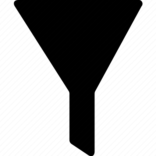 access, control, filter, funnel icon