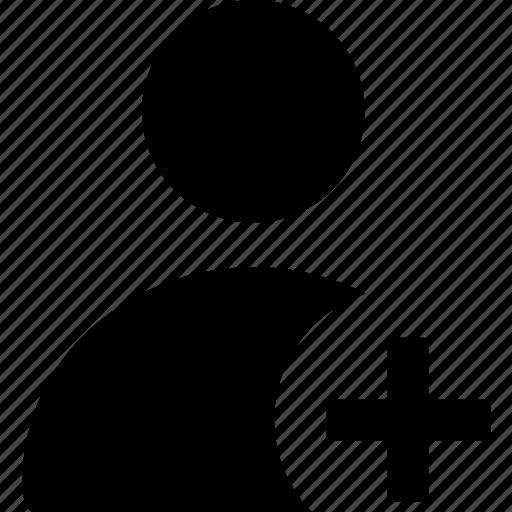 add person, add profile, add user, new profile, new user icon