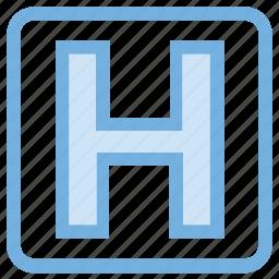 healthcare, hospital, hospital sign, medical sign, pharmacy sign icon