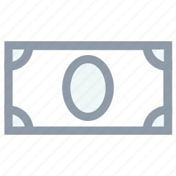 banknote, bill, currency, money, paper money icon