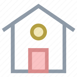 cottage, home, house, shack, web home icon