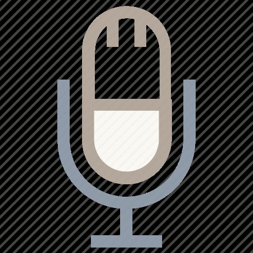 mic, microphone, sound, voice, volume icon