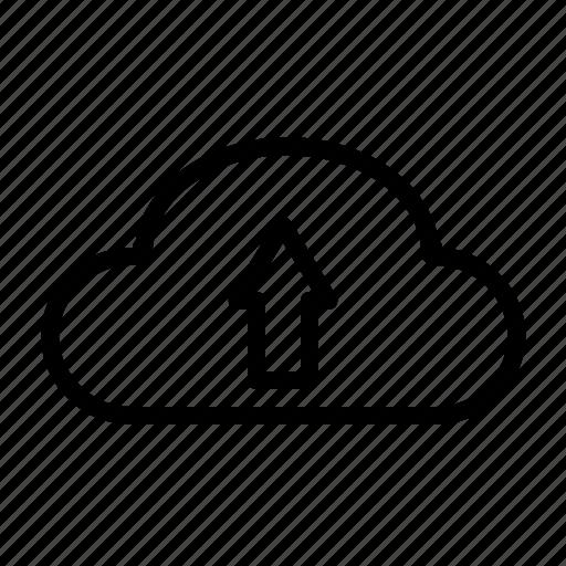 Cloud, data, database, network, server, storage, upload icon - Download on Iconfinder
