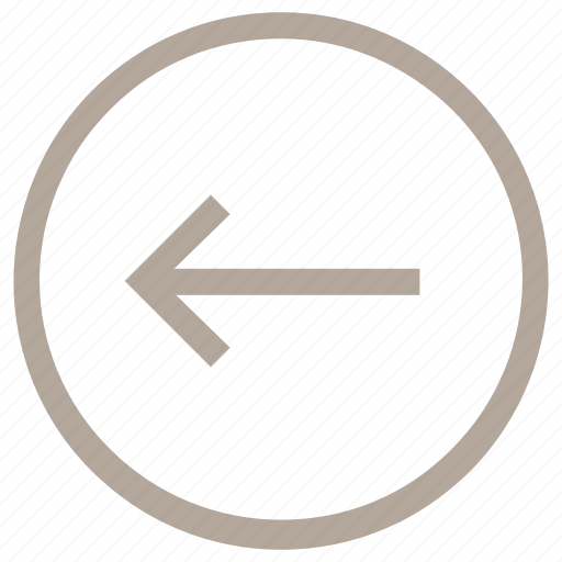 arrow left, back arrow, back sign, go back, left sign icon