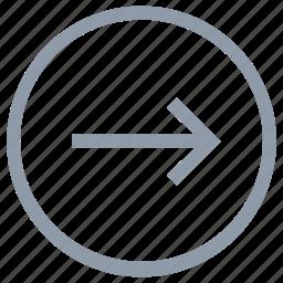 arrow direction, forward arrow, forward sign, go ahead, go forward icon