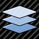 interface, layer, layered, ui, user icon