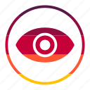 eye, find, view, vision icon