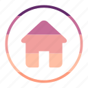construction, estate, house, property icon
