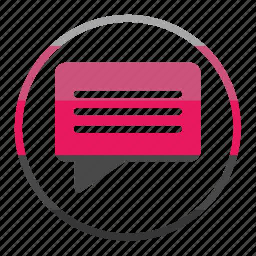 bouble, chat, decoration, double, message icon