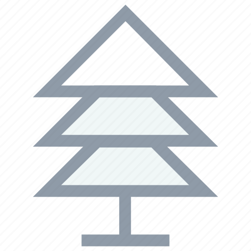 evergreen tree, fir tree, greenery, pine tree, tree icon
