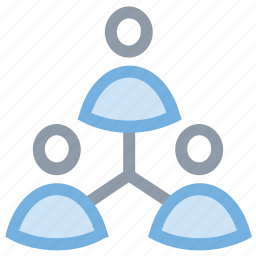 business community, group, people, team, users network icon