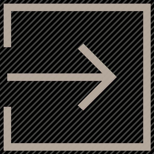 login, login arrow, login button, login sign, web login icon