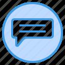 comment, chat, message, bubble, talk, speech, communication