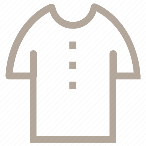 apparel, garment, round neck, shirt, tee shirt icon