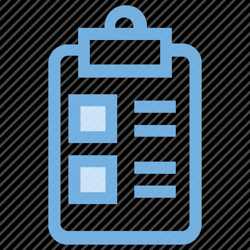 appointment, checklist, checkmark list, clipboard, list icon