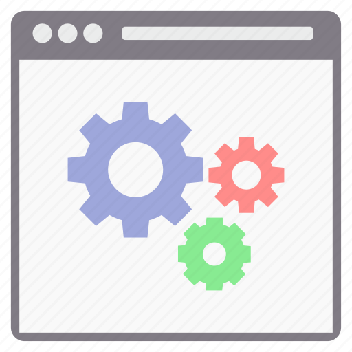 display, setting, settings icon