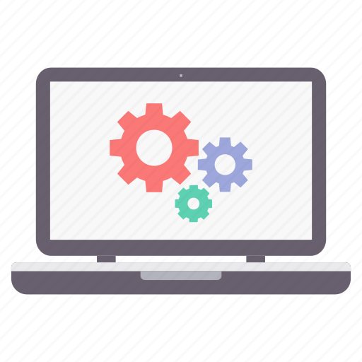 Configuration, laptop, settings icon - Download on Iconfinder