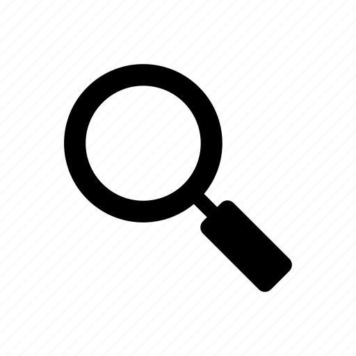 interface, internet, magnifying glass, search, user, web icon